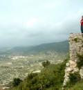 El castillo de la Peña Cadiella