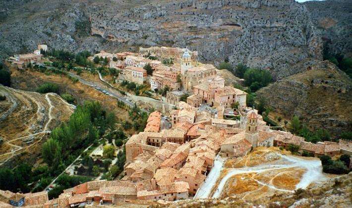 Alcázar o castillo de Albarracín